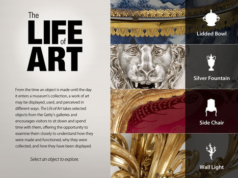 J. Paul Getty Museum Releases Interactive iPad App | Clic France | Scoop.it