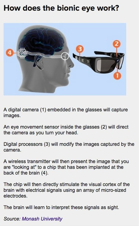 Bionic eye prototype unveiled that has iPhone camera and wirelessly transfers signal to brain | Amazing Science | Scoop.it