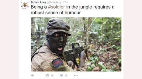 Twitter loses it over British Army 'blackface' tweet | Business Video Directory | Scoop.it