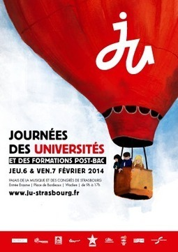 JU 2014Près de 130 établissements publics et privés-Journées des Universités et des formations post-bac - Strasbourg | Orientation post-bac | Scoop.it