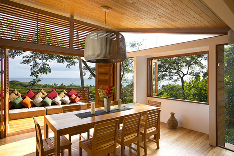 Exotic Wooden House Exhaling Life and Energy in Costa Rica | Design, Photography, and Creativity | Scoop.it