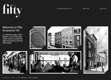 fifty | Grosvenor Hill | Commercial space To Let | Digital Portfolio by Small Back Room | Scoop.it