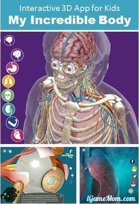 Currently free - Wonderful Educational App for Kids about Human Body | iGeneration - 21st Century Education | Scoop.it