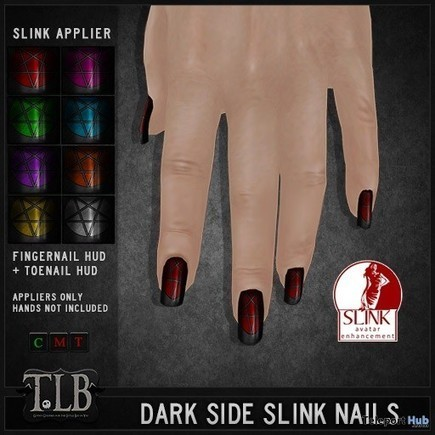Dark Side Slink Nails Lost & Found Event Gift by TLB | Teleport Hub - Second Life Freebies | Second Life Freebies | Scoop.it