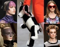 ¿Extravagancia o Vanguardia? - Accesorios Londres Fashion Week OI 2013/14   My Fashion Favourites   Scoop.it
