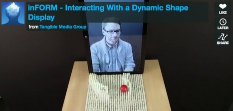 MIT Invents A Shapeshifting Display You Can Reach Through And Touch | Amazing Science | Scoop.it