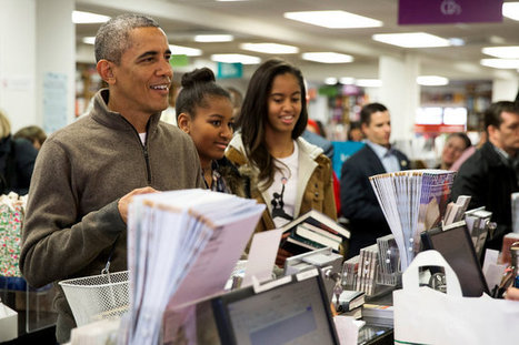 Honoring Small Business, Obamas Go Book Shopping - New York Times | B2B Data Matching | Scoop.it