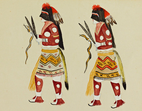 Highlights from Stanfords Native American Paintings Collection | Antique Pottery & Porcelain Marks | Scoop.it