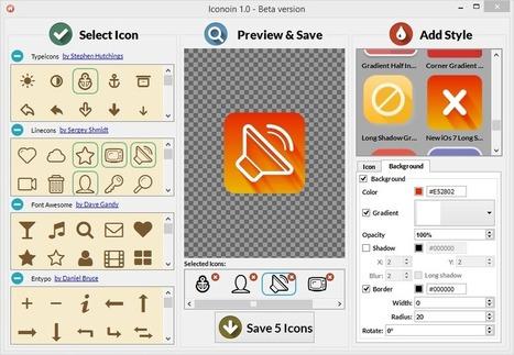 Iconiom - Un générateur d'icones sympas pour vos #webdesign | Les Medias Sociaux pour les TPE-PME | Scoop.it