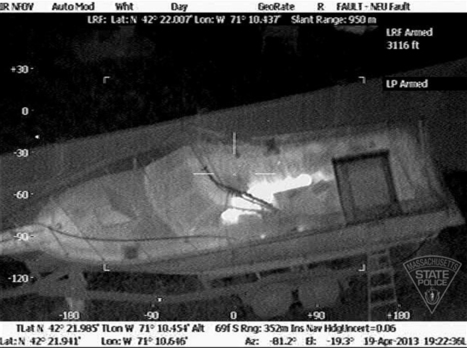 Update:Infrared police chopper images show Boston Marathon suspect hiding in boat;suspect guarded and in serious condition | Littlebytesnews Current Events | Scoop.it
