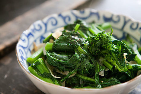 Broccoli Rabe with Caramelized Onions   Healthy Whole Foods   Scoop.it