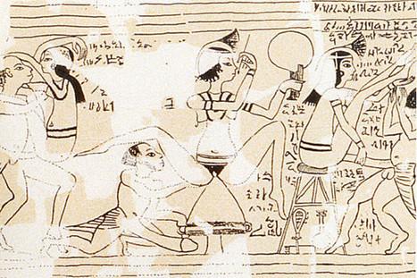 El enigmático Papiro Erótico de Turin | Heroes egipcios | Scoop.it