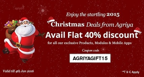 Agriya happily announces its Super Cool Christmas and new year Gift | Group Buying Script | Scoop.it