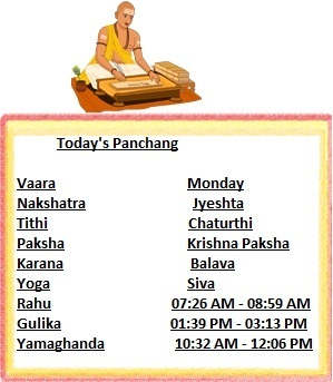 Today's Panchang for make your day happy. | Astrology Maharaj | Scoop.it