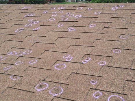 What to do When There is Hail Damage on Your Roof? | Commercial Roofing in Dallas | Scoop.it
