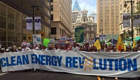 Thousands March in Center City Against Fossil Fuels  | Messenger for mother Earth | Scoop.it