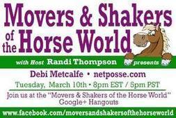Movers & Shakers of the Horse World with Debi Metcalfe of NetPosse.com | Horse and Rider Awareness | Scoop.it