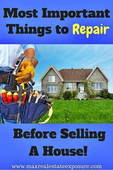 What to Fix Before Selling a House | Real-Estate and Home Staging | Scoop.it