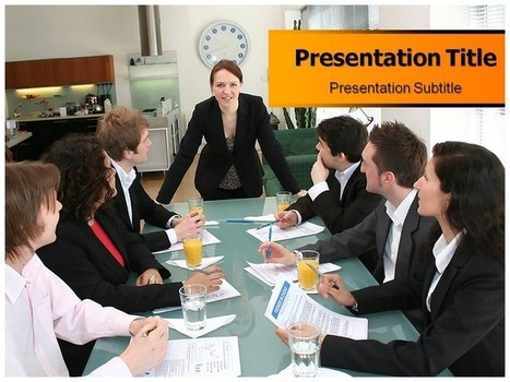 Employee Relation Free PPT Template | Free PPT Template | Scoop.it