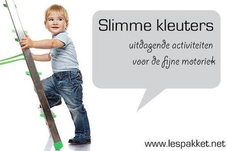 Slimme kleuters: 5 activiteiten voor de fijne motoriek - Lespakket - thema's, lesideeën en informatie - onderwijs aan kleuters | Schrijven | Scoop.it