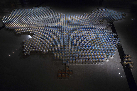 Photos of Ai Weiwei's latest work, a response to China's baby milk scandal | Comparative Government and Politics | Scoop.it