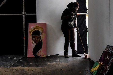 Meet Dieynaba, Senegal's first female graffiti artist | Afrika Inspired | Scoop.it