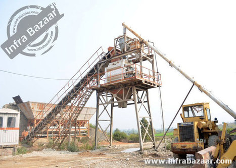 Used Batching Plant for sell :: Infra Bazaar   Used Equipment and Machinery   Scoop.it