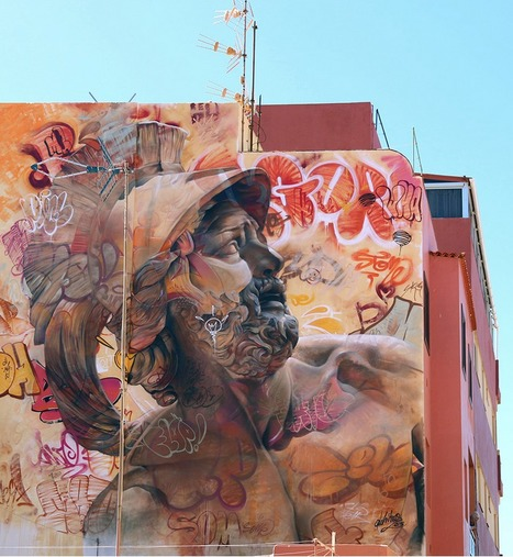 PichiAvo graffiti studio   PichiAvo – Art, design, graffiti   Art for art's sake...   Scoop.it