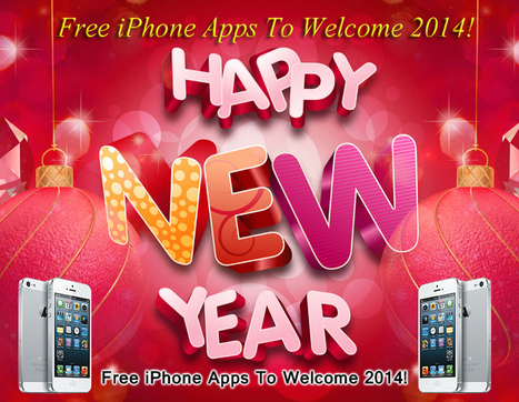 4 Free iPhone Apps To Welcome 2014! | Cell Phone Spy | Scoop.it