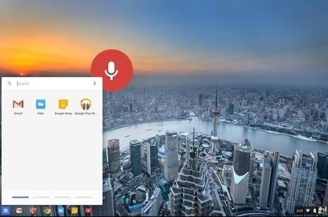 'Ok Google' : la recherche vocale arrive dans la branche dev de Chrome OS | Geeks | Scoop.it
