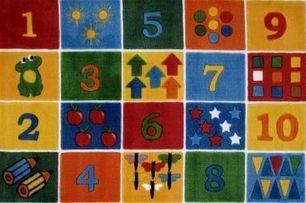 Fun Rugs Number Blocks TSC-232 - Kids | Traditional Area Rugs | Scoop.it