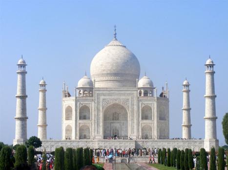 La blancheur du Taj Mahal menacée par la pollution | Actu & Voyage en Inde | Scoop.it