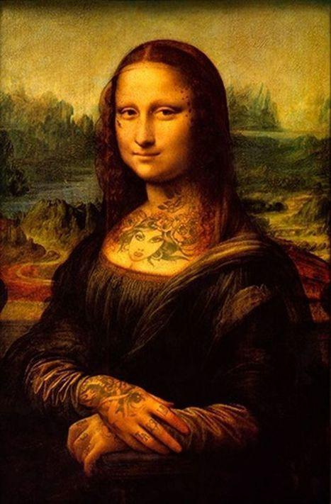 EN IMAGES. La Joconde et autres célèbres tableaux en version tatouée | Arts et FLE | Scoop.it