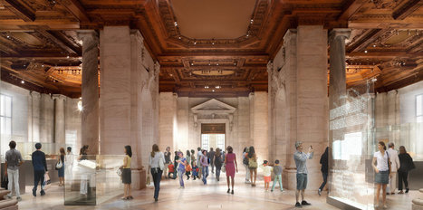 "New York Public Library Offers Peek at Renovation | ""library design"" AND "" library architecture"" 