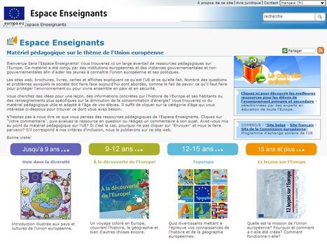 Matériel pédagogique sur le thème de l'Union européenne | Education & Numérique | Scoop.it