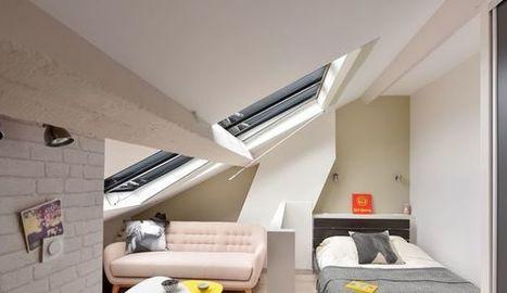 Combles aménagés : 10 plans pour exemple d'aménagement | Conseil construction de maison | Scoop.it