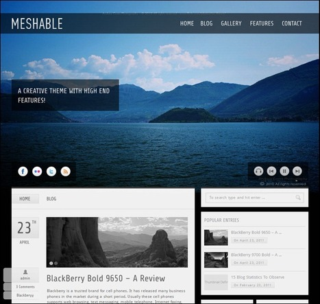 75+ Outstanding Wordpress Themes For Photographers - tripwire magazine | PgP Photography | Scoop.it