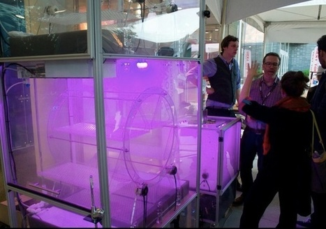 Aeroponic Machine Could Be the Next Cutting-Edge Food Production Tool - DeviceMAG | Vertical Farm - Food Factory | Scoop.it