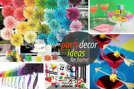 Unique Party Decor to Spice Up Your Entertaining   Parties and Events   Scoop.it
