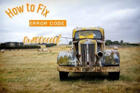 How to Fix Error Code 0x800ccc0f | Windows Errors & Fixes | Scoop.it