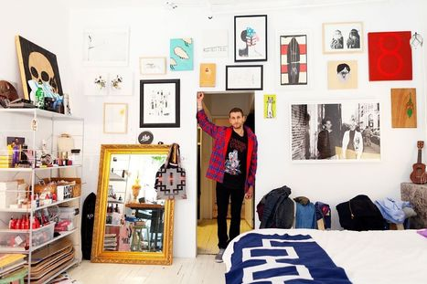The Selby visits Curtis Kulig « Arrested Motion | Raw and Real Interior Design | Scoop.it