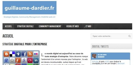Interview de Community Manager – Guillaume d'Ardier | ConseilsMarketing.fr | Community Manager, qui es-tu ? | Scoop.it