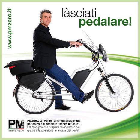 Pmzero, la bici elettrica a pedalata assistita che ti pedala, brevettata,innovativa. Le bici elettriche Made in Italy. Lasciati pedalare. Provami! - PMZERO. La prima bicicletta elettrica che ti ped... | biciclette elettriche | Scoop.it