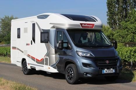 camping car 2016 challenger 280 le lit centr. Black Bedroom Furniture Sets. Home Design Ideas