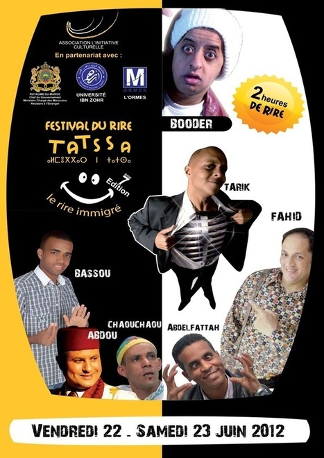Agadir 7ème édition du Festival du Rire Emigration et humour | Agadir | Scoop.it
