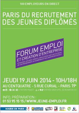 Forum emploi : Paris du recrutement des jeunes diplômés | RH Only | Scoop.it