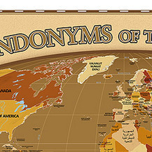"""Geographia, Nice interactive map. """"A map of endonyms of the...   Geographic Information Technology   Scoop.it"""