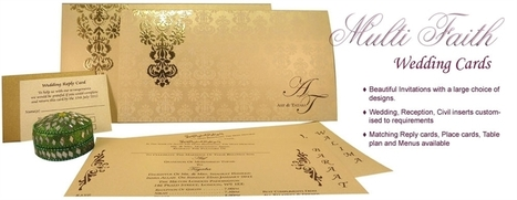 2 things that can go horribly wrong with multifaith wedding invitations | Hindu Wedding Cards | Scoop.it