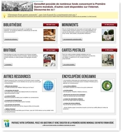 Vos ancêtres pendant la guerre 14-18 (1) : les ressources en ligne   Infos généalogiques   Scoop.it