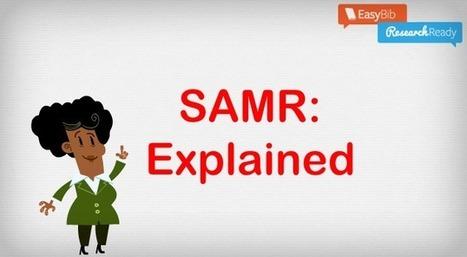 The SAMR Model Explained! | EdTech Integration | Scoop.it